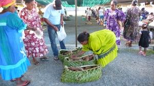 Marché de Tadine en Nouvelle-Calédonie
