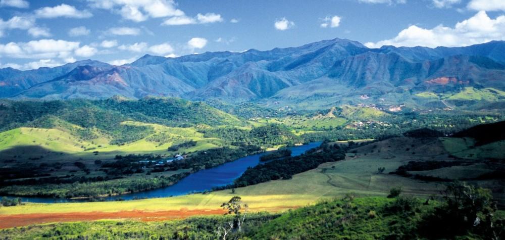 Grande Terre mountain range