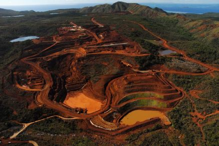 Goro mine, New Caledonia. Photo Julien Thomazo.